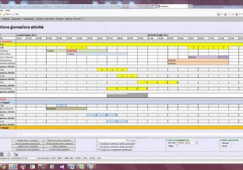 Programma per gestire i turni di lavoro Suite Archimede 4.0