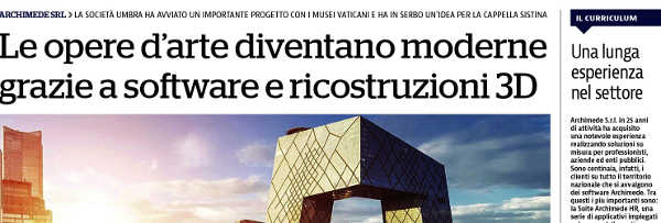 Articoli su Archimede pubblicati su La Repubblica